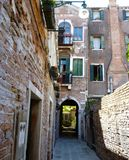 View to old houses in Venice. Stock Photo