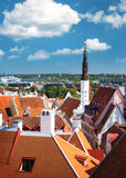 View to Old Tallinn Stock Images