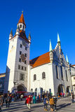 View to old town hall in Munich royalty free stock photo