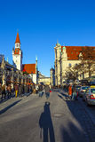 View to old town hall in Munich Stock Images