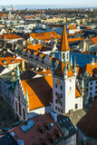 View to old town hall in Munich Royalty Free Stock Photography