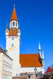 View to old town hall in Munich Royalty Free Stock Photos