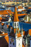 View to old town hall in Munich Stock Photography