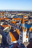 View to old town hall in Munich Royalty Free Stock Image