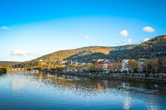 View to old town of Heidelberg Royalty Free Stock Photography