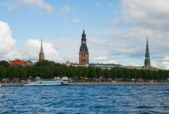 View to old town of Riga Royalty Free Stock Images
