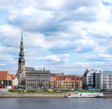 View to Old town of Riga, Latvia Royalty Free Stock Photos