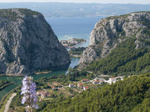 View to Omis Stock Photography