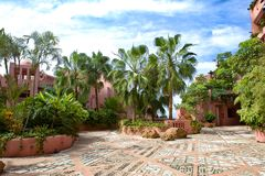 Ritz-Carlton, Abama Resort in Tenerife luxury resort Teneriffe Stock Images