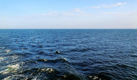 View to the open Baltic sea. Royalty Free Stock Photo