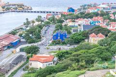View to Otrobanda Stock Photo