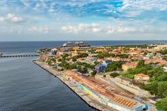 View to Otrobanda Stock Images