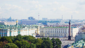 View to Palace square in the Saint-Petersburg Stock Photos