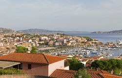 View to the Palau city. Royalty Free Stock Photo