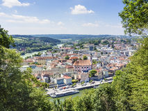 View to Passau Stock Images