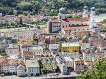 View to Passau Stock Image