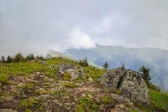 View to peak Midzhur from Bulgaria Royalty Free Stock Photo