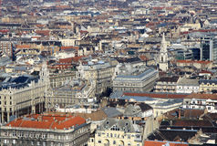 View to Pest, Budapest, Hungary Stock Image