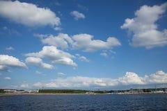 View to Pirita beach in Tallinn Royalty Free Stock Photos