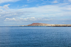 View to Playa Blanca from Playa de Papagayo Stock Images