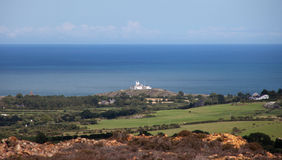 View to Point Linas Lighthouse Royalty Free Stock Images