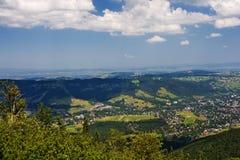 View to the Polish town of Zakopane Stock Photography
