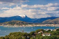 View to Port de Pollenca Stock Photo