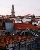 View to Porto Portugal stock images