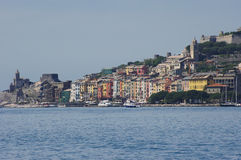 View to Portovenere Royalty Free Stock Images