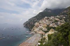 View to Positano Stock Photos