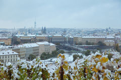 View to the Prague Stock Photography