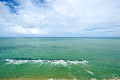 A view to the Recife city beach Royalty Free Stock Photography