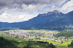 View to Reutte Royalty Free Stock Photography
