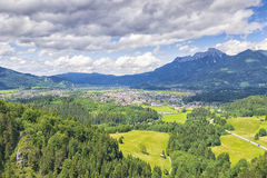 View to Reutte Royalty Free Stock Photos