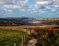 View to Rhosneigr Stock Photography