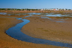 View to Ria Formosa Natural Park, Portugal Stock Images