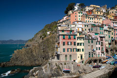 View to Riomaggiore Royalty Free Stock Photo