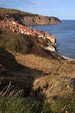 View to Robin Hoods Bay Royalty Free Stock Photography