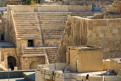 View to the Roman Theatre Stock Photography