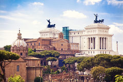 View to Rome, Italy Royalty Free Stock Photography