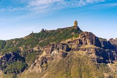 Free View To Roque Nublo, Gran Canaria, Spain Royalty Free Stock Images - 105534969