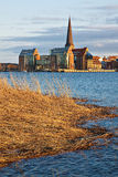 View to Rostock Stock Photo