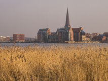 View to Rostock Royalty Free Stock Images