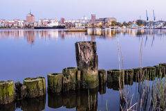 View to Rostock Royalty Free Stock Photography