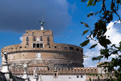View to the Saint Angelo Castle Stock Photos