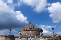 View to the Saint Angelo Castle Royalty Free Stock Image