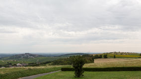 The View to Sancerre Stock Photography