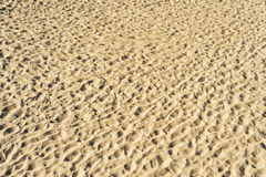 View to sand as textured background Stock Photo