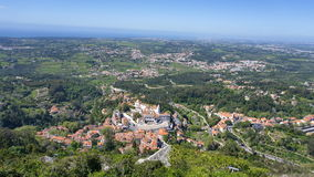 View to the Sintra Stock Photo