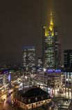 View to skyline of Frankfurt Royalty Free Stock Photo